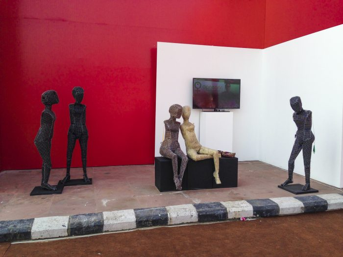 "Nuova Delhi 2015 ""India Art fair"" con il progetto ""Be aware of Sex trafficking"""